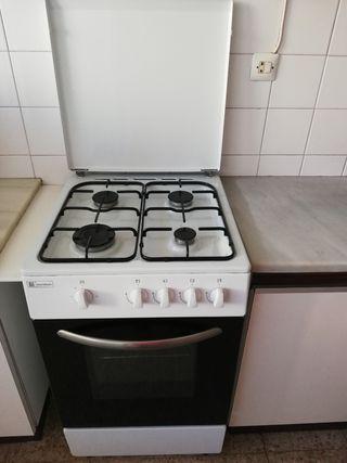 Cocina y horno de gas Eurotek