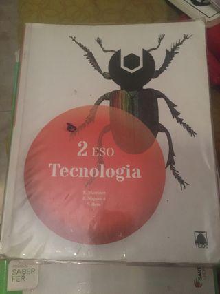 Libro de texto de 2º de la ESO