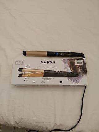Plancha liso + bucles Babyliss