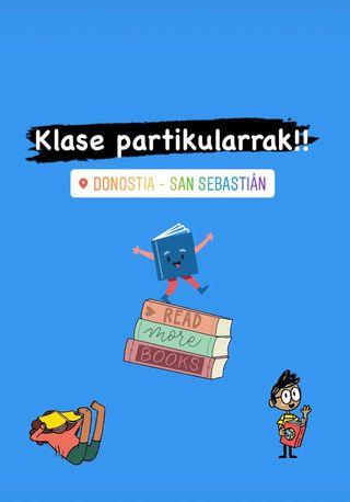 Klase partikularrak Donostia San Sebastian