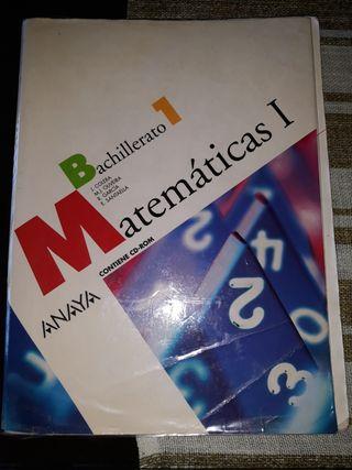 LIBRO 1 BACHILLERATO