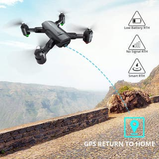 wifi Drone Plegable GPS con Cámara 1080P
