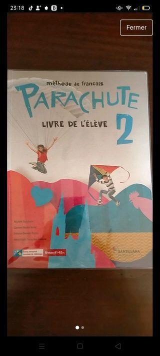 libro de texto de francés- Parachute 2Eso