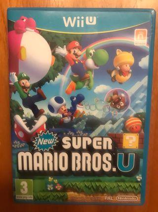 Juego New Super Mario Bros U para Nintendo WiiU