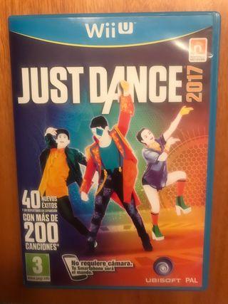 Juego Just Dance 2017 para Nintendo Wii U