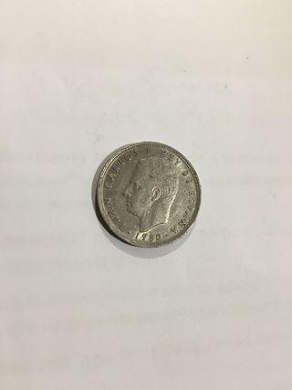 5 pesetas España 82 año 1980 *81