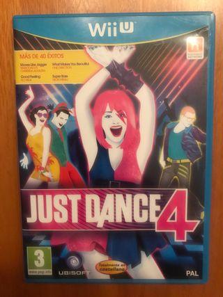 Juego Just Dance 4 para Nintendo Wii U