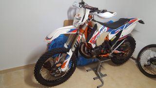 KTM exc 300 six days slovakia