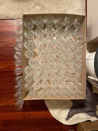 Set de vasos/copas (69 piezas)