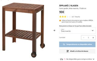 Mueble Barbacoa Applaro Ikea