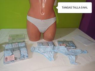 TANGAS NUEVOS 4X5€