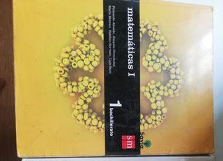 Libro matemáticas 1°Bachillerato