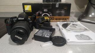 Camara Nikon D3100 excelente estado