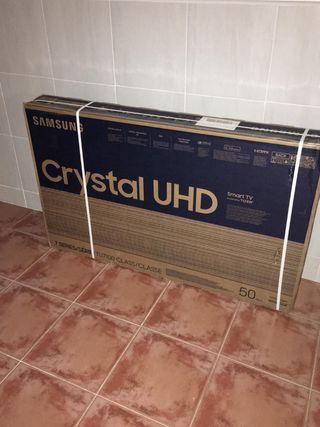 TV cristal uhd Samsung 7100 50 pulgadas