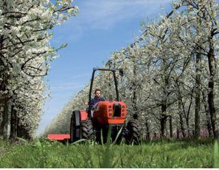 Trabajos agrícolas con tractor