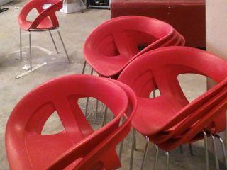 sillas plastico terraza