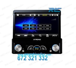 "RADIO GPS 1DIN GPS 7"" HD TÁCTIL BLUETOOTH 4.0 USB"