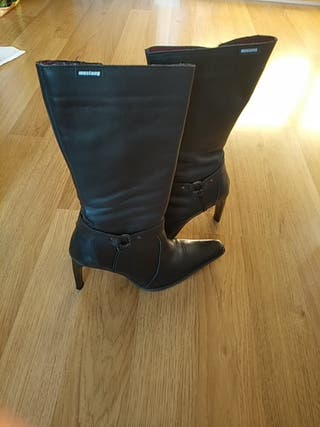 botas altas con tacón.mujer.numero 39
