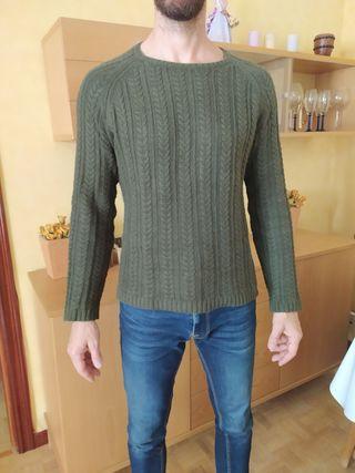 Jersey verde lana
