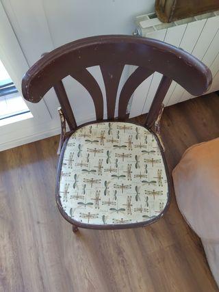 silla de bar restaurada