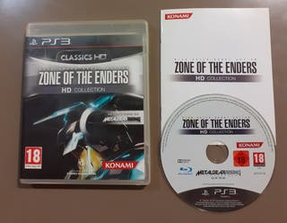 Zone of The Enders HD Collection Classics Ps3