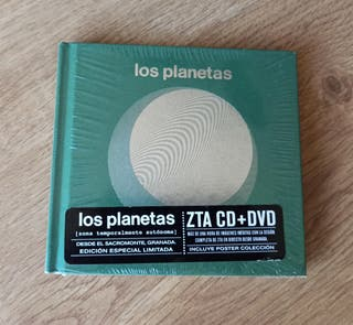 Los Planetas,Cd+Dvd+Poster