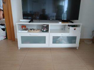 mueble TV blanco ikea