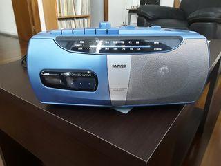 Radio Cassette Vintage Daewoo