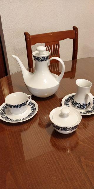 juego de té 8 tazas