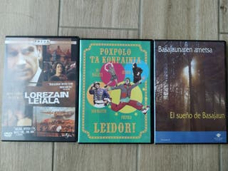 lote DVDs euskera