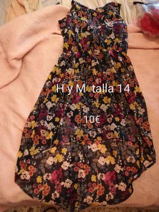 vestido HyM talla 1,70