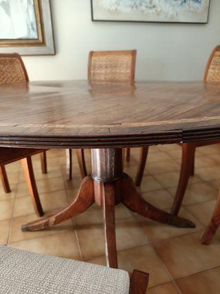 mesa comedor redonda