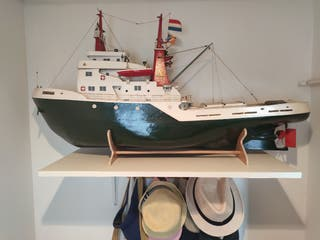 maqueta barco Amsterdam