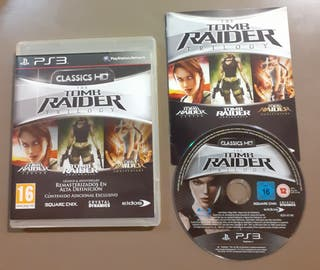 Tomb Raider trilogy HD Collection PS3