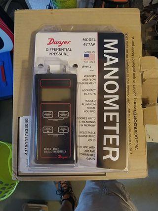 manómetro digital DWYER 477AV-3
