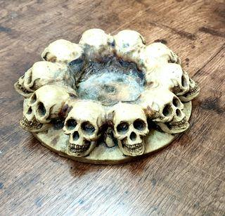 Pebetero GRANDE Gotico Esotérico Skull