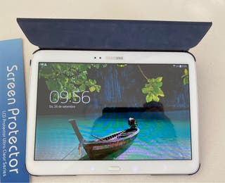 Samsung Galaxy Tab3 + book cover + screen protecto