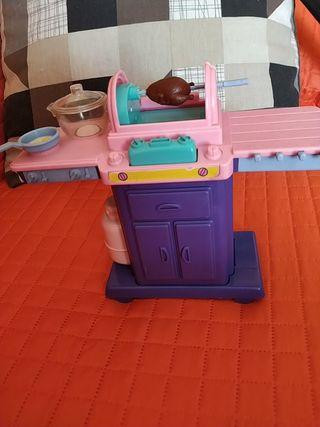 barbacoa Barbie original