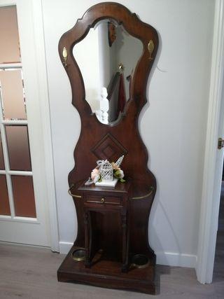 paraguero mueble recibidor, siglo XIX