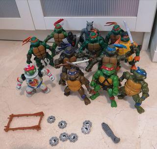 Lote tortugas ninja de varias series