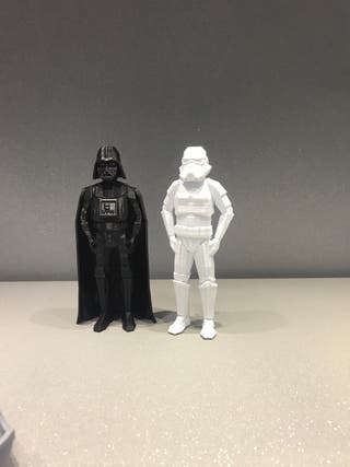Star Wars 2 figuras