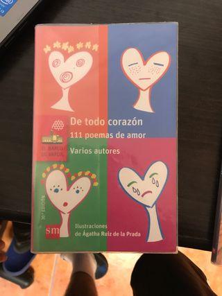 Libro: DE TODO CORAZÓN (111 poemas de amor)