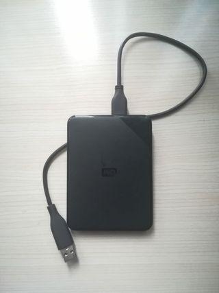 Disco duro externo 1TB WD