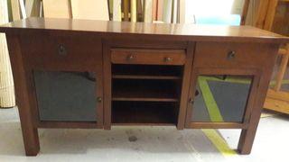 Mueble bufet antiguo madera