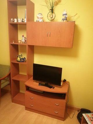 Mueble tele y estantería