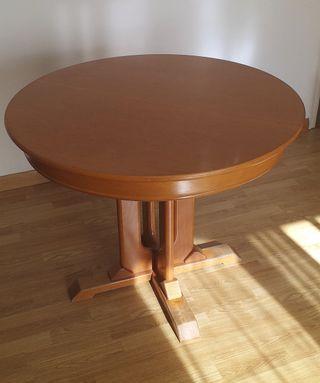 Mesa comedor vintage de madera