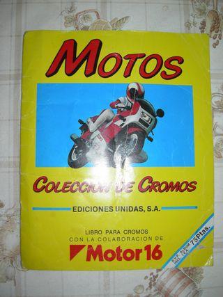 Colección de cromos de Motos