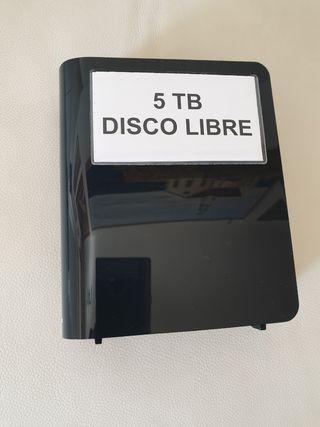 Disco duro 5 TB externo Western Digital