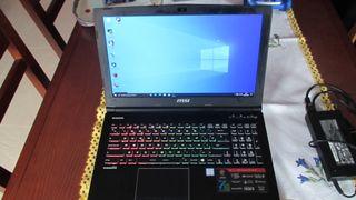 Portatil MSI GE62 7RE Apache Pro i7 7700HQ
