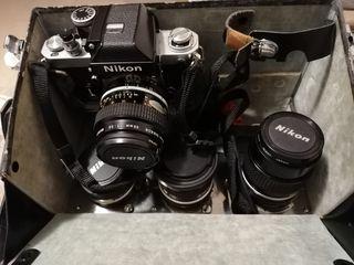 Lote fotografía Nikon
